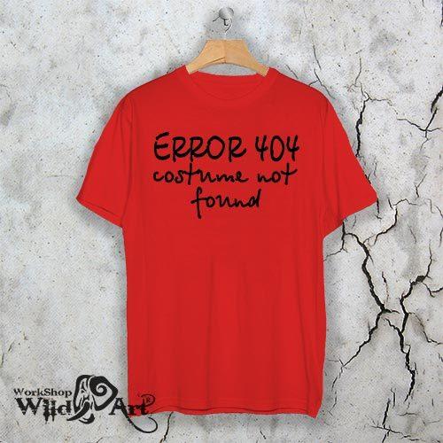 Тениска за Хелоуин Error 404 W 1149
