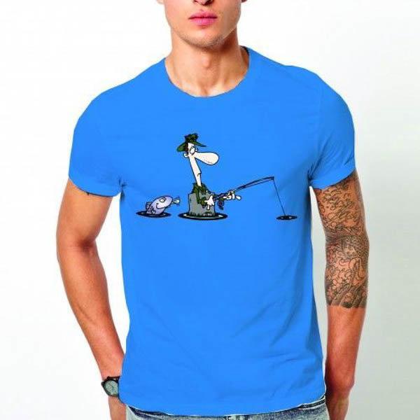 Тениска За риба N1007