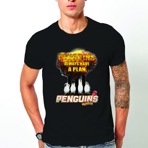 "Тениска – ""Penguins Of Madagascar"" K 1123"