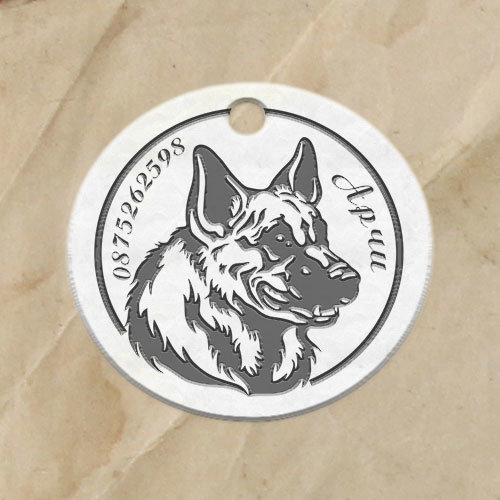 Кучешки медальон Лапичка1-Copy