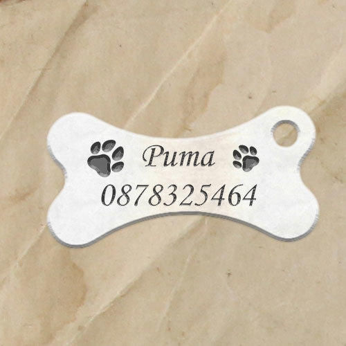 Кучешки медальон Сърце 2-Copy