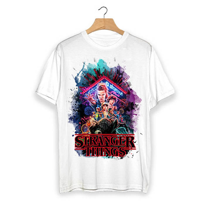 Тениска Stranger Things