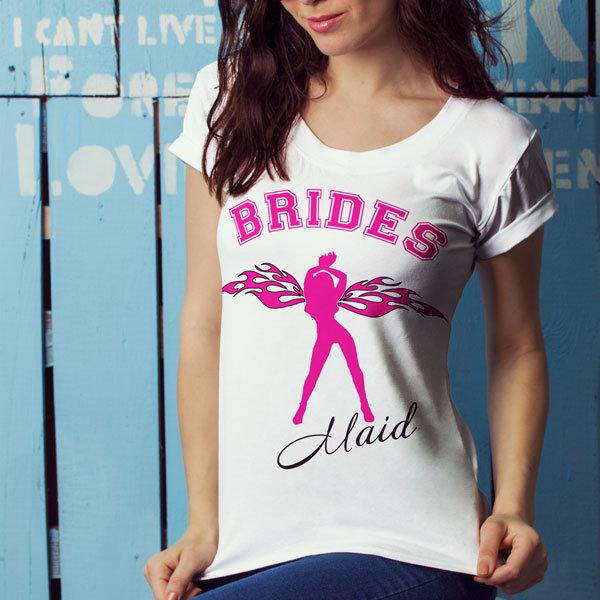 Дамска Тениска – Brides Maid W1014