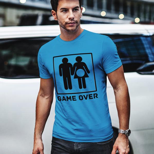 Тениска Game Over