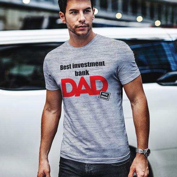 Тениска Best investment bank