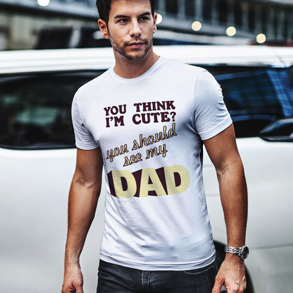 Тениска See my dad