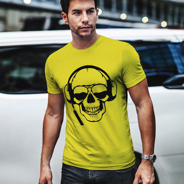 "Тениска – ""DJ  Skull"""