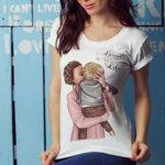 Тениска - Lovin the mom life mm111