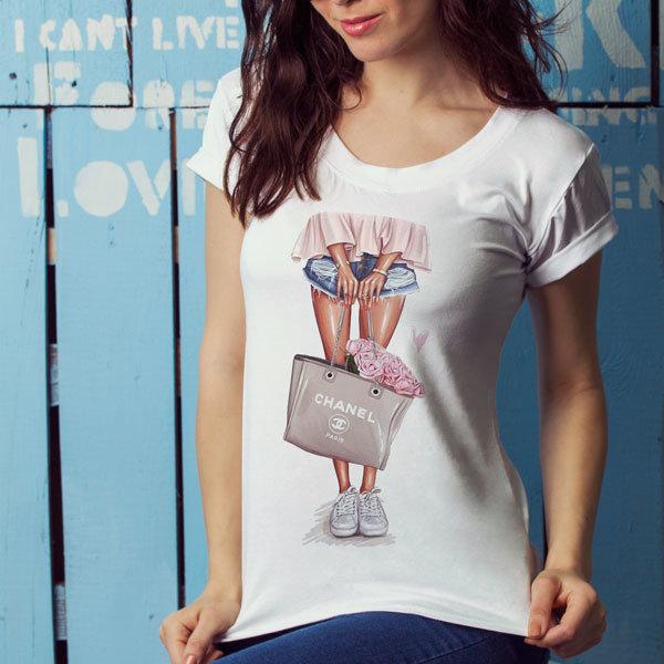 Тениска - Chanel mm109