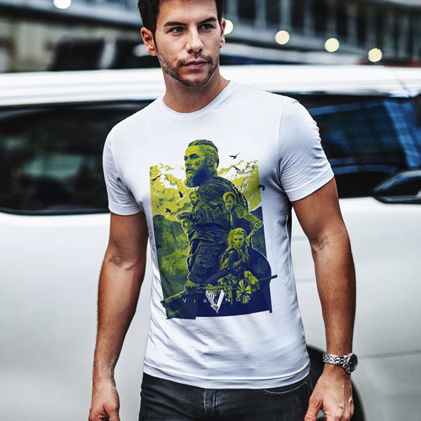Тениска - Vikings colour Ragnar Lodbrok VGS105
