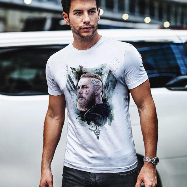 Тениска - Vikings abstract Ragnar Lodbrok VGS106