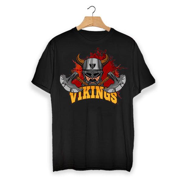 Тениска - Vikings graphic VGS104