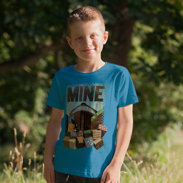Тениска - Minecraft