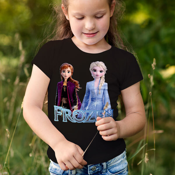 Тениска Frozen - Замръзналото кралство Елза и Анна FRT102
