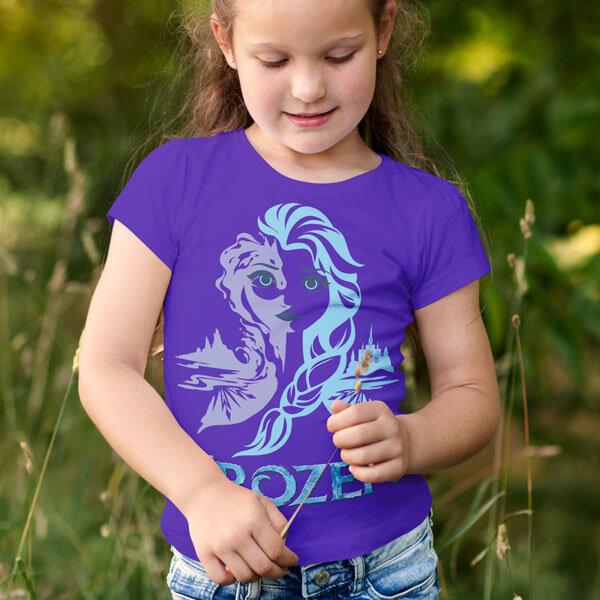Тениска Frozen - Замръзналото кралство Елза FRT105