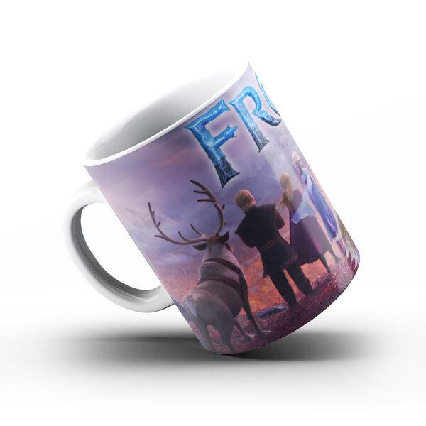 Чаша - Frozen - Замръзналото кралство Елза Анна Кристов Олаф Свен