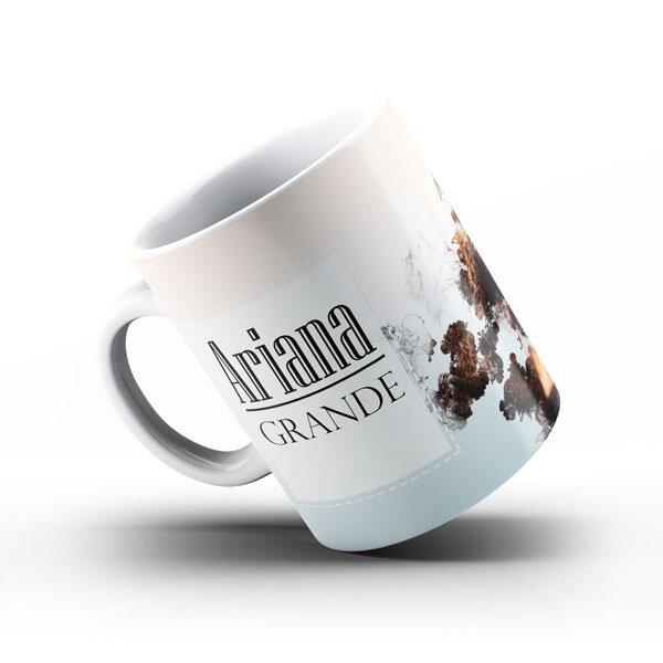 Керамична чаша Ариана Гранде AGCH101