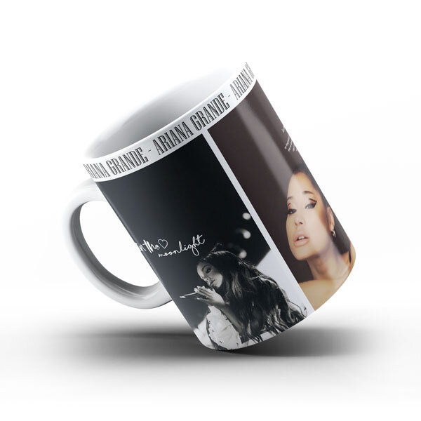 Керамична чаша Ариана Гранде AGCH104