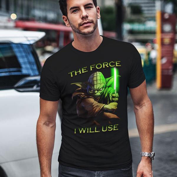Тениски Star Wars - Междузвездни войни Yoda