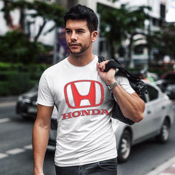 Тениска за фенове с логото на Honda  HT103