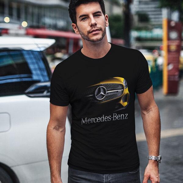 Тениска за фенове с логото на Mercedes MCT101