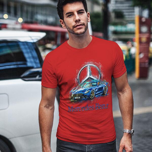 Тениска за фенове с логото на Mercedes MCT104