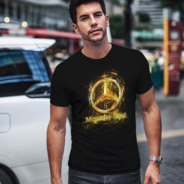 Тениска за фенове с логото на Mercedes MCT106