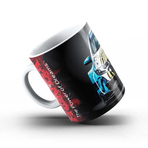 Керамичнa чашa за фенове с логото на Honda HCH103