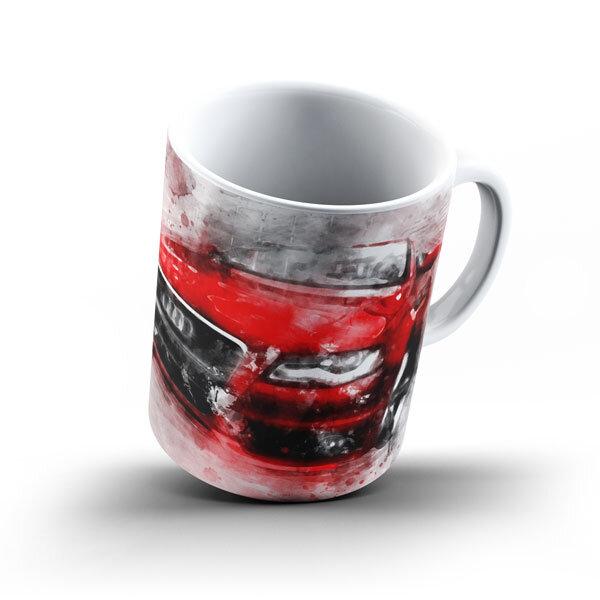 Керамичнa чашa за фенове с логото на Audi  AUCH104