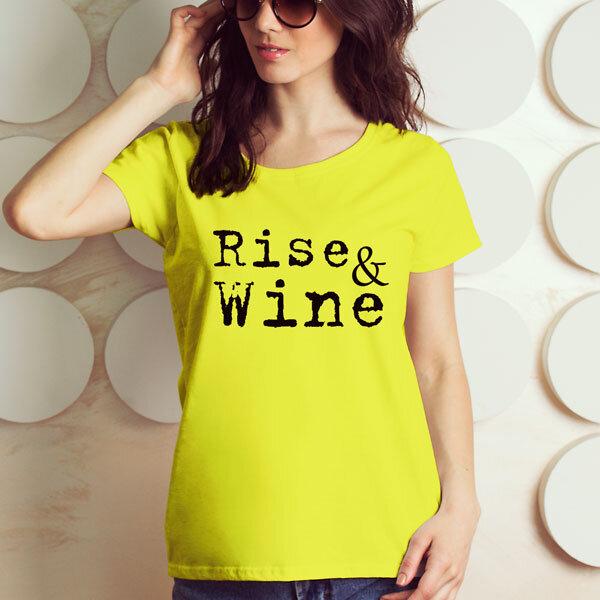 Тениска за Трифон Зарезан - Rise and Wine TZT107