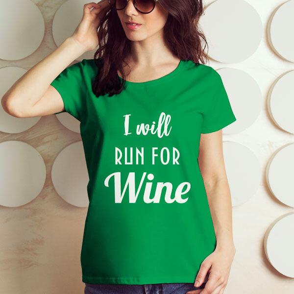 Тениска за Трифон Зарезан - Run for Wine TZT109