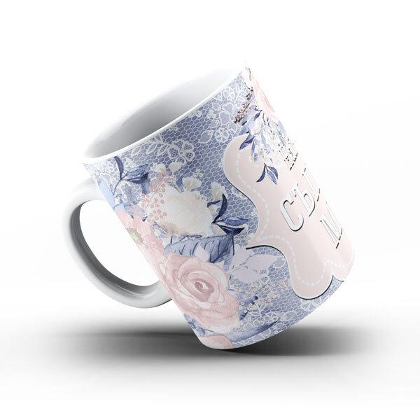 Керамична чаша Най-прекрасната съпруга и майка