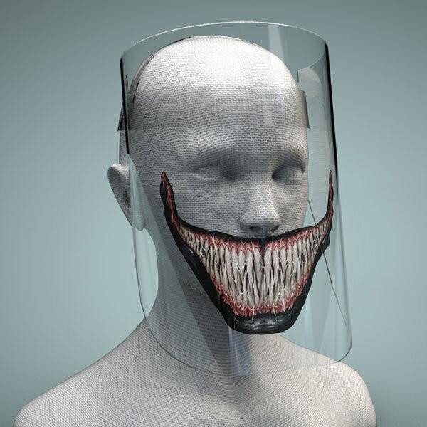 Предпазен Шлем с печат - Venom