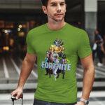 Тениска Fortnite Chapter 2 Season 4 - Iron man, Thor, She-Hulk