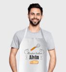 Персонална готварска престилка - Kiss the cook