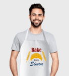 Персонална готварска престилка - Bake with...