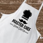 Персонална готварска престилка - Master Chef