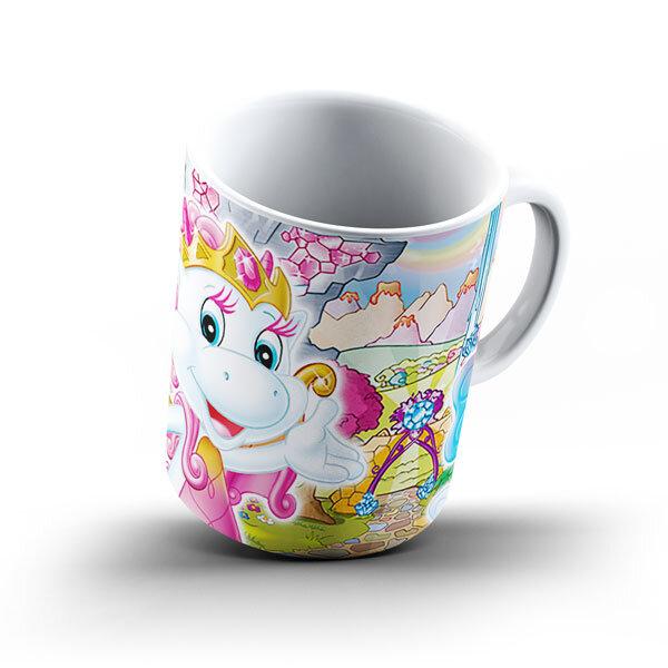 Детска керамична чаша - Dragon