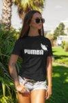 Тениска с щампа - Puma