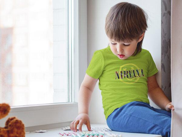 Тениска с щампа - Nirvana