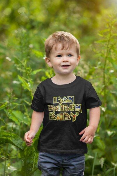 Тениска с щампа - Iron Maiden baby