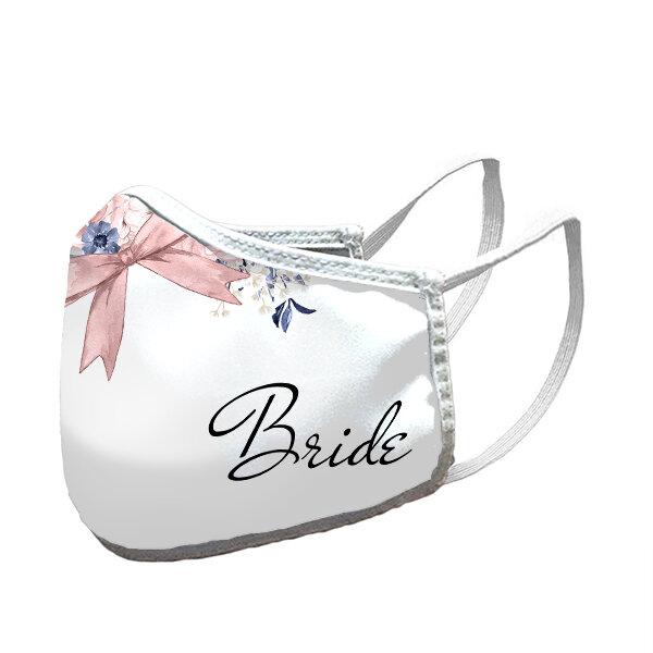Сватбени маски комплект - Булка, кума, шаферка
