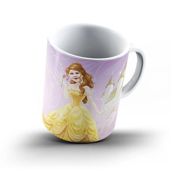"""Чаша със снимка  - """"Бел"""""""