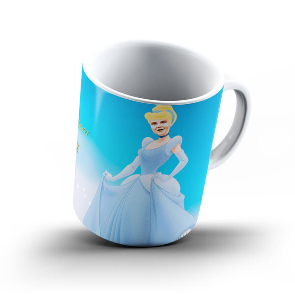 """Чаша със снимка  - """"Пепеляшка"""""""