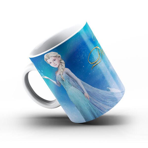 """Чаша със снимка  - """"Елза"""""""