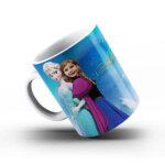 """Чаша със снимка  - """"Елза и Анна"""""""