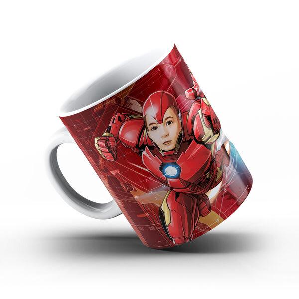 """Чаша със снимка  - """"Айрънмен"""""""