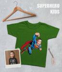 """Тениска с Ваша снимка - """"Супермен"""""""