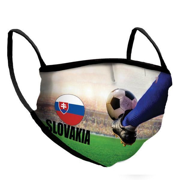 Маска за многократна употреба Euro 2021 - Slovakia