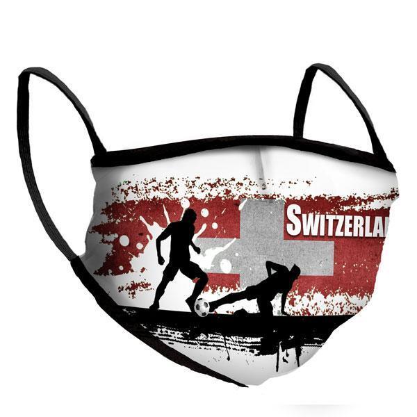 Маска за многократна употреба Euro 2021 - Switzerland